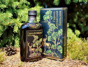 Горно Алтайский бальзам бутылка