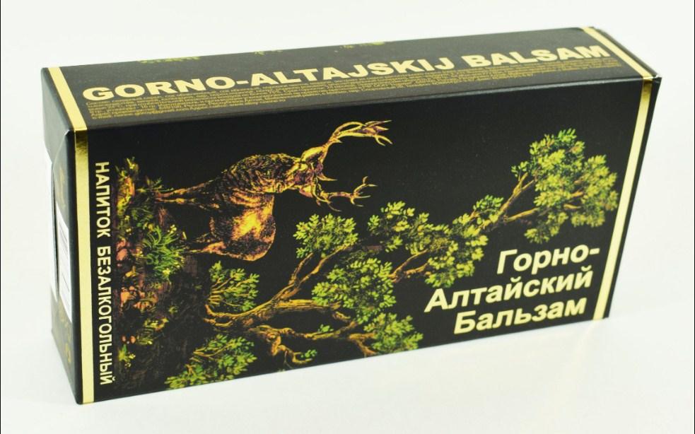 Горно Алтайский бальзам коробка