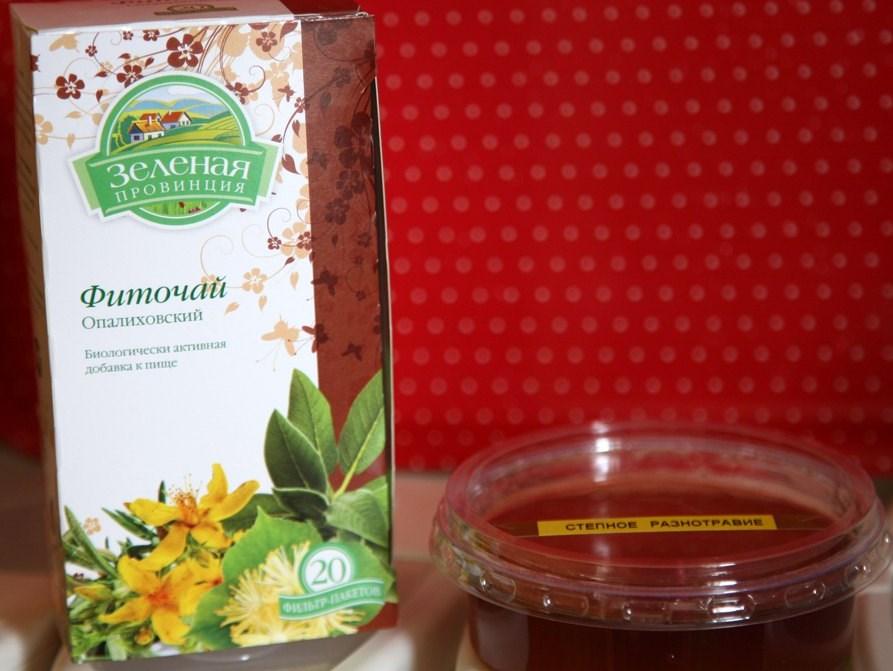 Опалиховский чай с медом