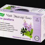 Эвалар Био – инструкция по применению чая при диабете