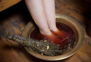 Травы от грибка ногтей