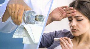 Водочный компресс температура