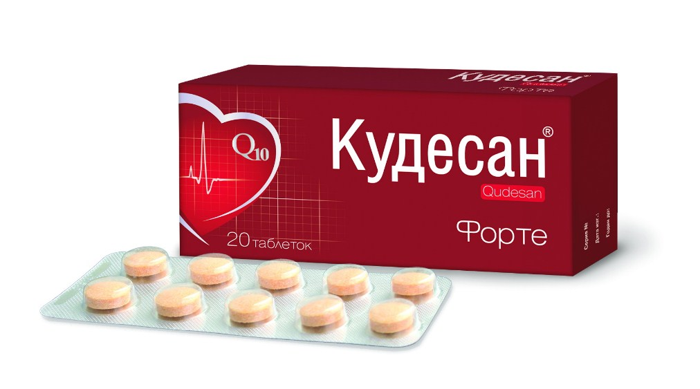 Кудесан Форте таблетки