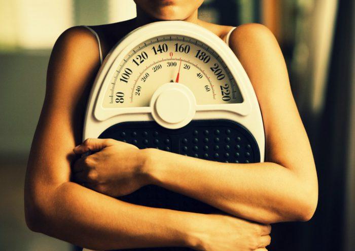 Похудела весы