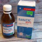 Панатус – инструкция к сиропу от кашля