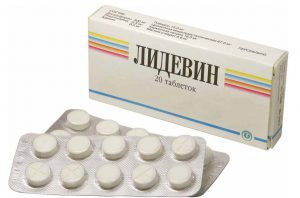 Лидевин таблетки