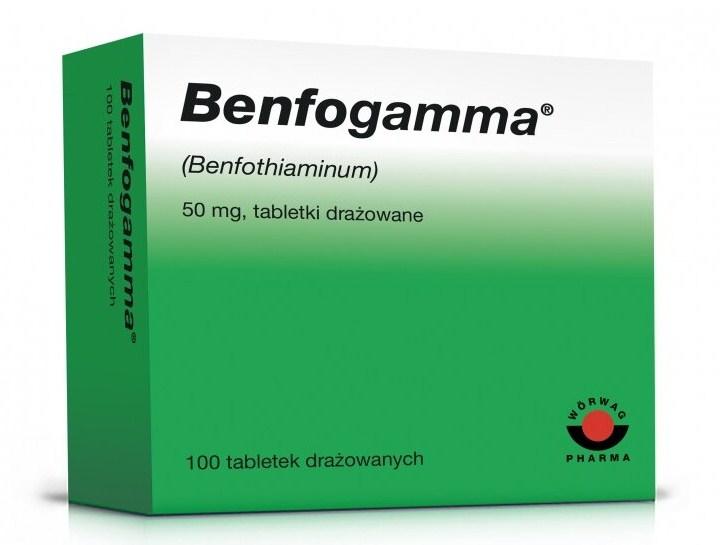 Бенфогамма упаковка