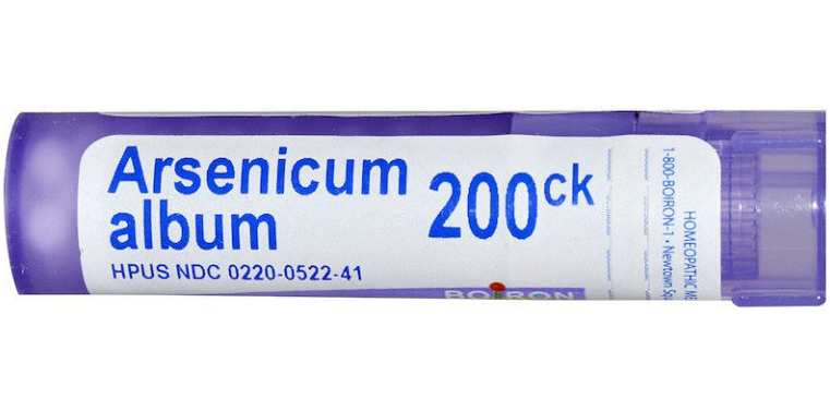 Арсеникум Альбум пенал