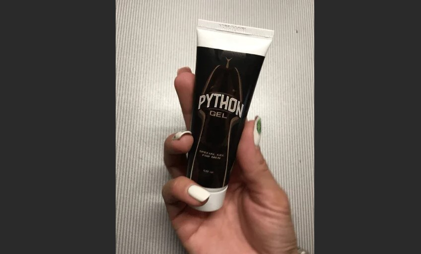 Питон ГЕль препарат